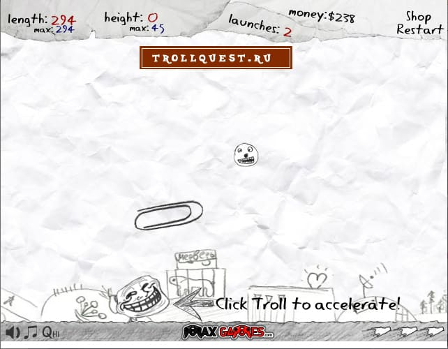 Троллфейс квест 8 (TrollFace 8 Launch )