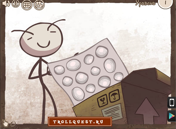 Онлайн игра Троллфейс квест интернет